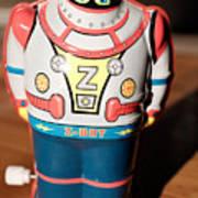 Z-bot Robot Toy Art Print