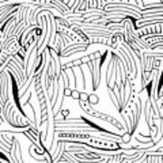 Zackary Art Print