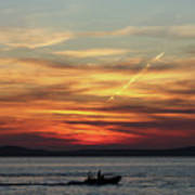 Zadar Sunset Art Print