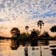 Zambezi Sunset Art Print