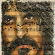 Zappa The Walz  Art Print