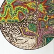 Zapping Warps Art Print