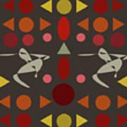 Zappwaits Dance Art Print