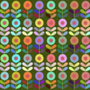 Zappwaits Flower Art Print