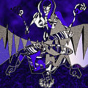 Zazen Jazz Art Print