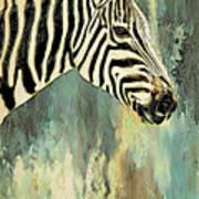 Zebra Abstracts Too Art Print