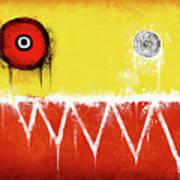 Zeeko Abstract #104 Art Print