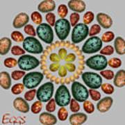 Zeerkl Of Eggs Art Print