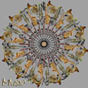 Zeerkl Of Music Art Print