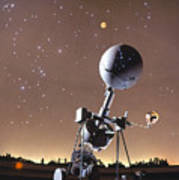 Zeiss Planetarium Projector Art Print