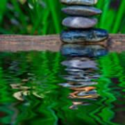 Zen Art And Reflections By Kaye Menner Art Print