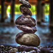 Zen Under The Dock Art Print