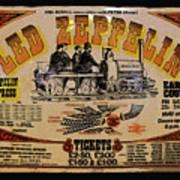 Zeppelin Express Art Print