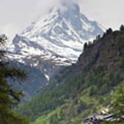 Zermatt Art Print by Andre Goncalves
