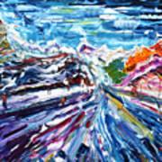 Zermatt Or Cervinia Art Print