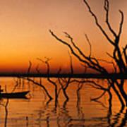 Zimbabwe Sunset Art Print