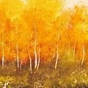 Zion Autumn Art Print