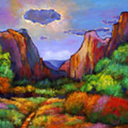 Zion Dreams Art Print by Johnathan Harris