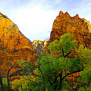 Zion In Autumn Art Print