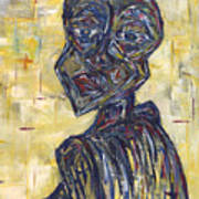 Ziva Kwaunobva Remember Where You Are From Art Print