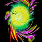 Zodiac sign Taurus  Happy Birthday Art Print