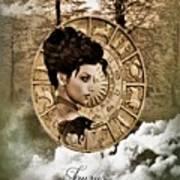 Zodiac Signs - Taurus Art Print