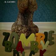 Zombie Baby Dick Art Print by Robert Sanders