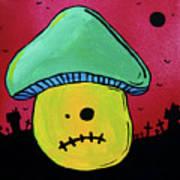 Zombie Mushroom 1 Art Print by Jera Sky
