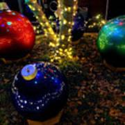 Zoo Lights Ornaments Art Print