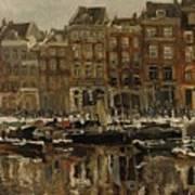 Zuidblaak Te Rotterdam Art Print