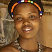 Zulu Beauty Art Print