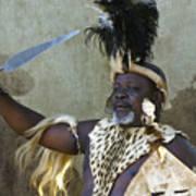 Zulu Pride Art Print