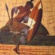 Zulu Warrior Art Print