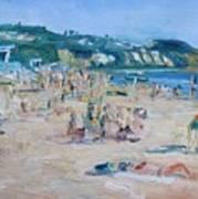 Zuma Beach Art Print