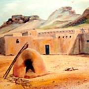 Zuni - Pueblo Art Print