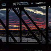 008 - Trestle Sunset Art Print