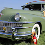1947 Chrysler Town And Country Woody Art Print