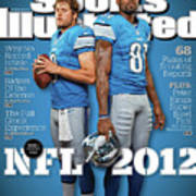 2012 Nfl Football Preview Issue Sports Illustrated Cover Art Print