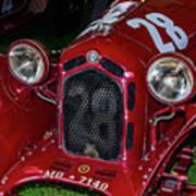 A 1930 Alfa Romeo 6c 1750 Gs  Art Print