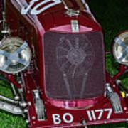 A 1933 Maserati 8c 3000 Biposto Art Print