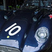 A 1950's Lister Jaguar Race Car Art Print