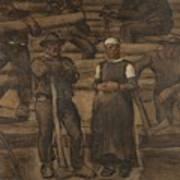 Albin Egger-lienz 1868 - 1926 The Ages Of Life Art Print