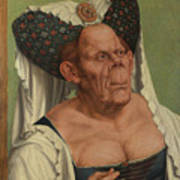 An Old Woman  The Ugly Duchess   Art Print