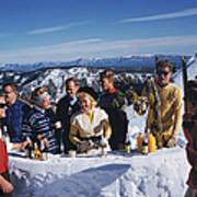 Apres Ski Art Print