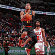 Atlanta Hawks V Chicago Bulls Art Print