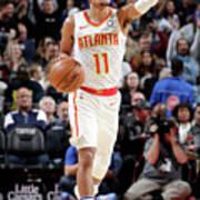 Atlanta Hawks V Detroit Pistons Art Print