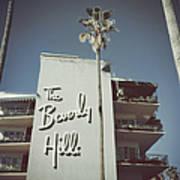 Beverly Hills Hotel Art Print