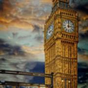 Big Ben London City Art Print