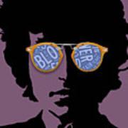 Blowin In The Wind Bob Dylan Art Print