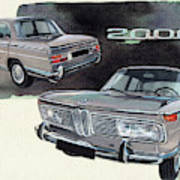 Bmw 2000 Art Print